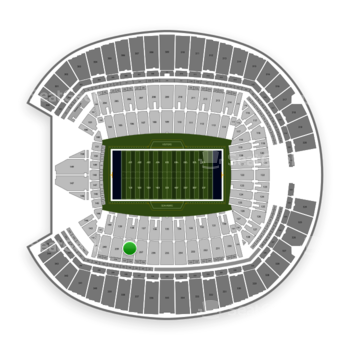 Seattle Seahawks at CenturyLink Field Section 238 View