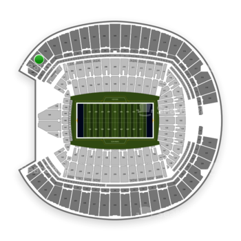Seattle Seahawks at CenturyLink Field Section 301 View