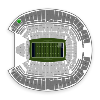 Seattle Seahawks at CenturyLink Field Section 302 View