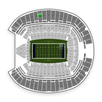 Seattle Seahawks at CenturyLink Field Section 307 View