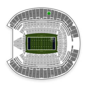 Seattle Seahawks at CenturyLink Field Section 311 View