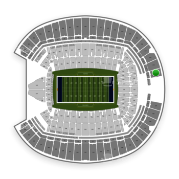 Seattle Seahawks at CenturyLink Field Section 320 View