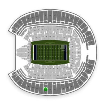 Seattle Seahawks at CenturyLink Field Section 336 View