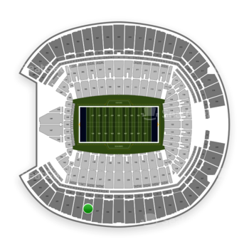 Seattle Seahawks at CenturyLink Field Section 338 View