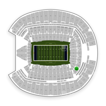 Seattle Seahawks at Century Link Field Section 127 View