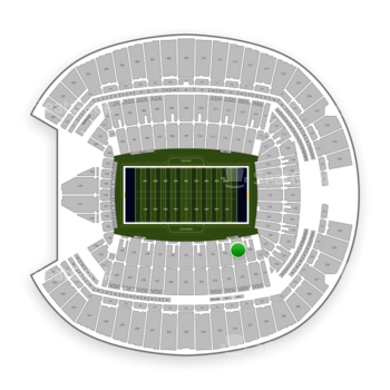Seattle Seahawks at Century Link Field Section 131 View