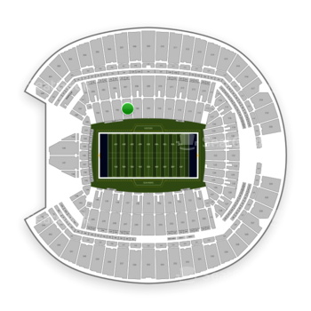 Seattle Seahawks at CenturyLink Field Section 107 View