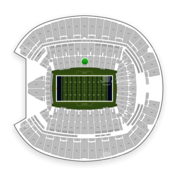 Seattle Seahawks at CenturyLink Field Section 109 View