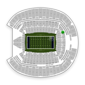 Seattle Seahawks at CenturyLink Field Section 118 View