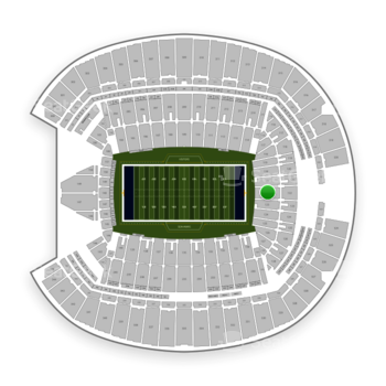 Seattle Seahawks at CenturyLink Field Section 122 View