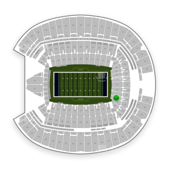 Seattle Seahawks at CenturyLink Field Section 125 View