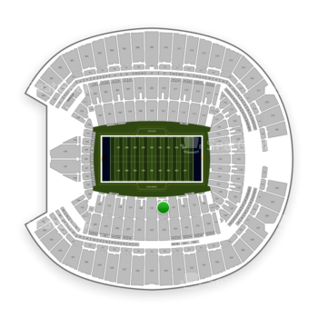 Seattle Seahawks at CenturyLink Field Section 134 View