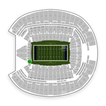 Seattle Seahawks at CenturyLink Field Section 145 View
