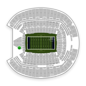 Seattle Seahawks at CenturyLink Field Section 146 View