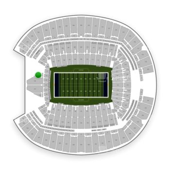 Seattle Seahawks at CenturyLink Field Section 150 View