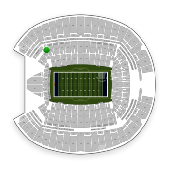 Seattle Seahawks at CenturyLink Field Section 203 View