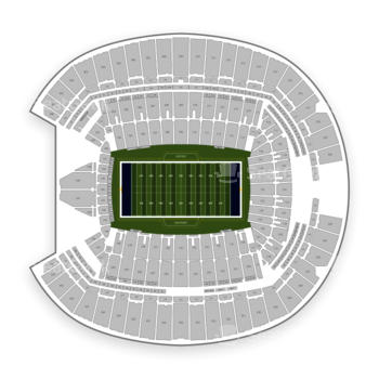 Seattle Seahawks at CenturyLink Field Section 206 View