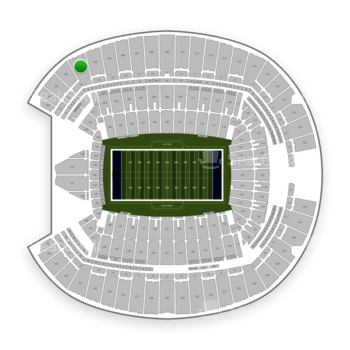 Seattle Seahawks at CenturyLink Field Section 303 View