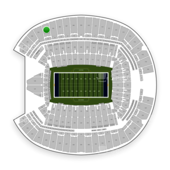Seattle Seahawks at CenturyLink Field Section 304 View