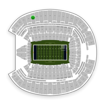 Seattle Seahawks at CenturyLink Field Section 305 View