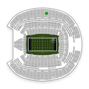 Seattle Seahawks at CenturyLink Field Section 310 View