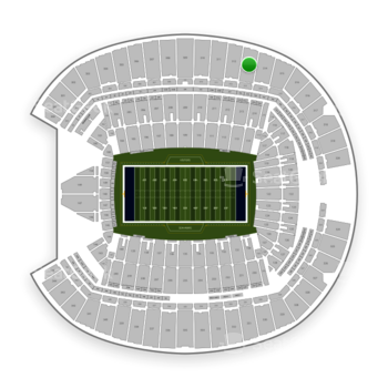 Seattle Seahawks at CenturyLink Field Section 313 View