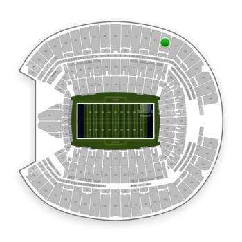 Seattle Seahawks at CenturyLink Field Section 314 View
