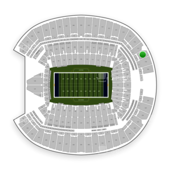 Seattle Seahawks at CenturyLink Field Section 318 View