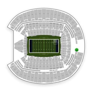 Seattle Seahawks at CenturyLink Field Section 323 View