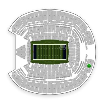 Seattle Seahawks at CenturyLink Field Section 325 View