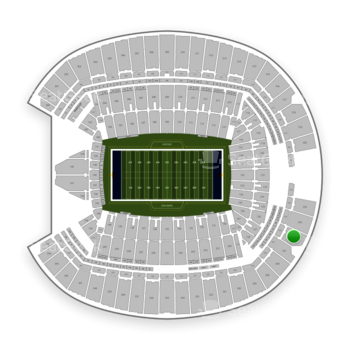 Seattle Seahawks at CenturyLink Field Section 326 View