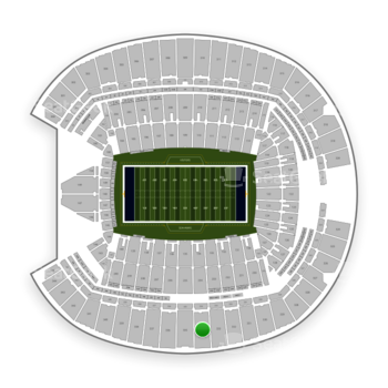 Seattle Seahawks at CenturyLink Field Section 334 View