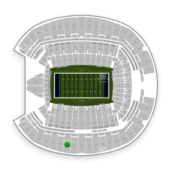 Seattle Seahawks at CenturyLink Field Section 337 View