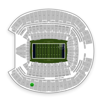 Seattle Seahawks at CenturyLink Field Section 339 View