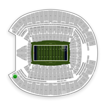 Seattle Seahawks at CenturyLink Field Section 344 View