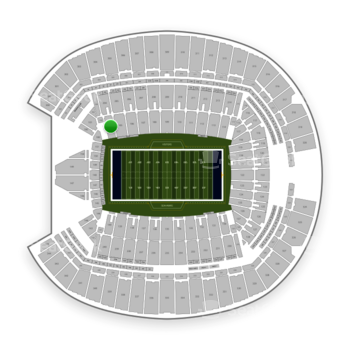 Seattle Seahawks at CenturyLink Field Section 104 View