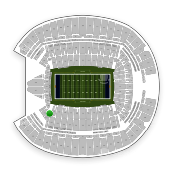 Seattle Seahawks at CenturyLink Field Section 141 View