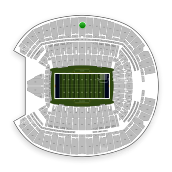 Seattle Seahawks at CenturyLink Field Section 309 View