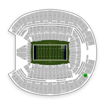 Seattle Seahawks at CenturyLink Field Section 327 View