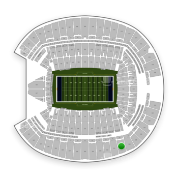 Seattle Seahawks at CenturyLink Field Section 330 View