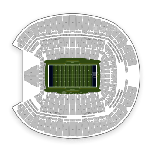 Seattle Seahawks Seating Chart