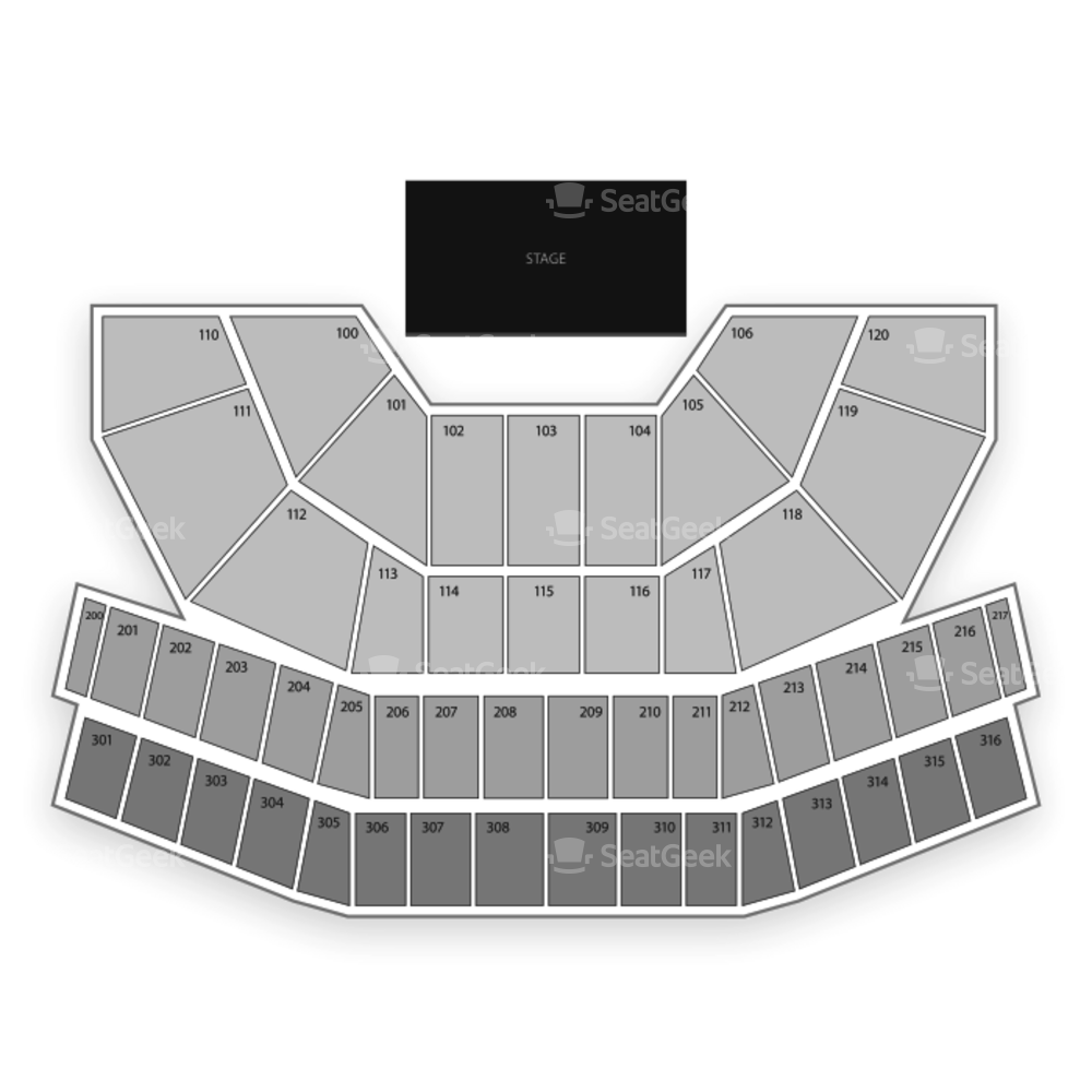 Celeste Center Seating Chart Concert