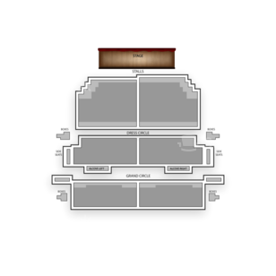 Victoria Theatre Seating Chart Theater