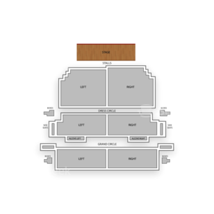 Victoria Theatre Seating Chart Comedy