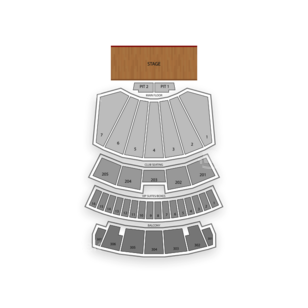 Comerica Theatre Seating Chart Music Festival