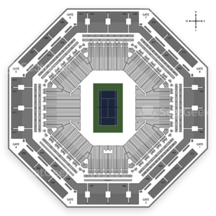 Indian Wells Tennis Garden Seating Chart Tennis