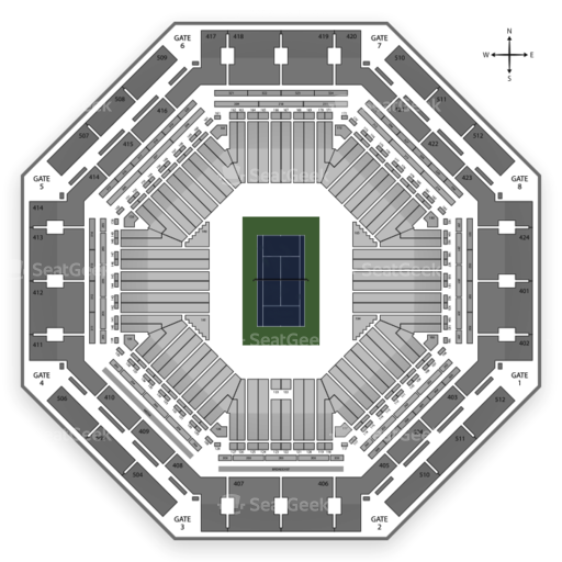Indian Wells Tennis Garden Seating Chart