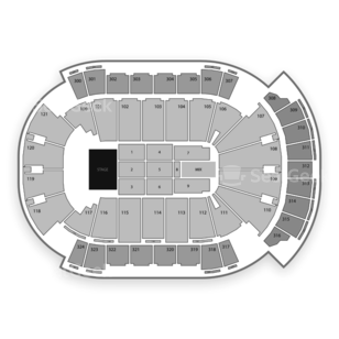 Jacksonville Veterans Memorial Arena Seating Chart Classical