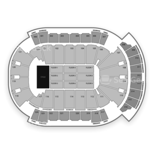 Jacksonville Veterans Memorial Arena Seating Chart Comedy