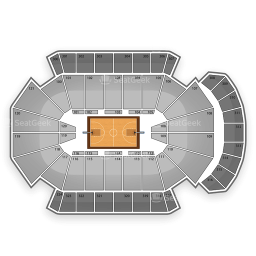 Jacksonville Veterans Memorial Arena Seating Chart